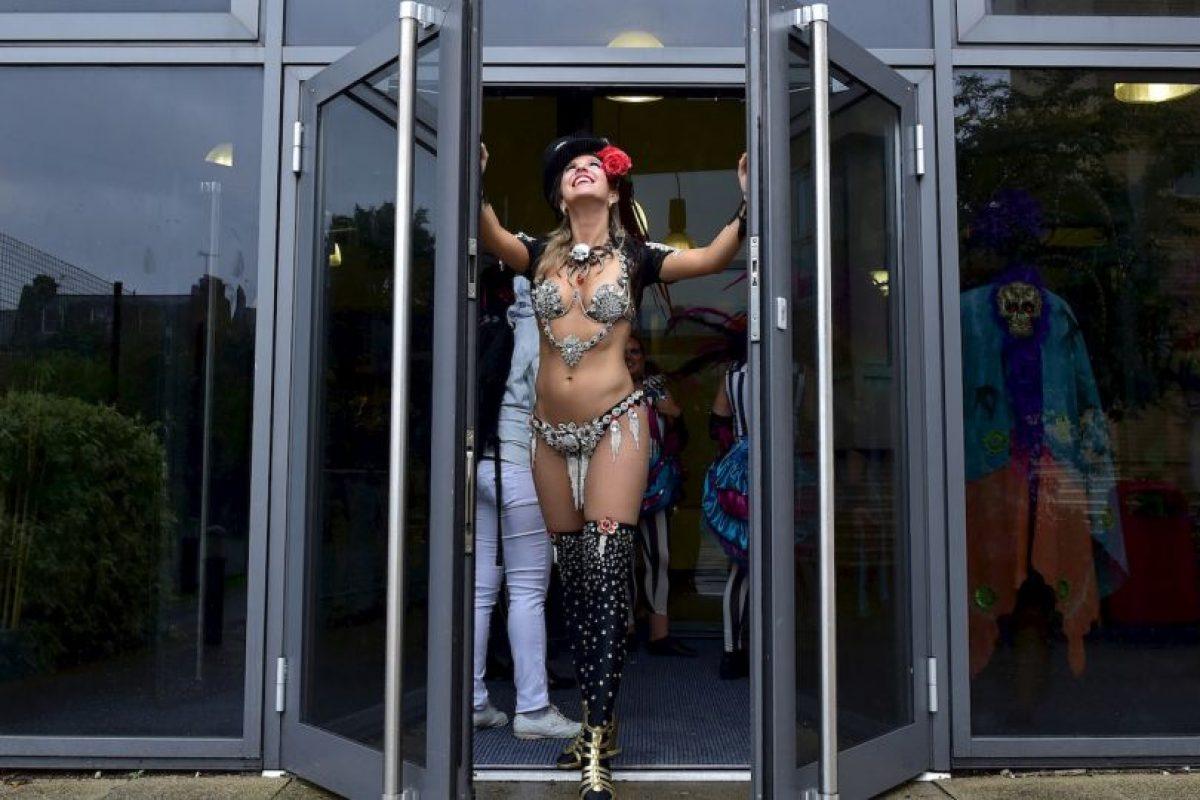 Carnaval en Londres. Foto:AFP