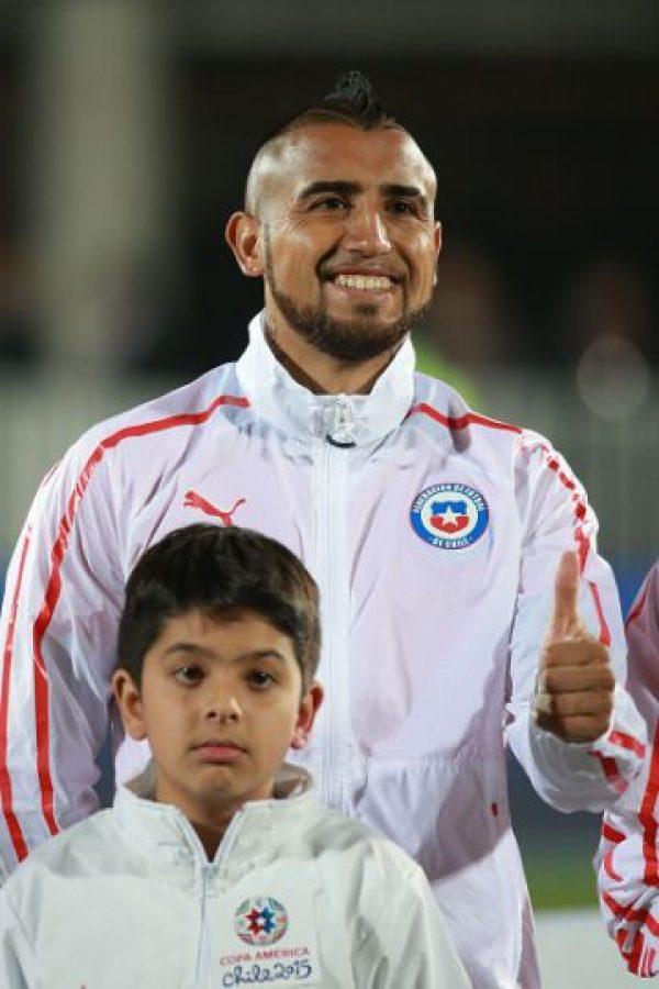 Al final, Vidal y Chile se coronaron en el torneo sudamericano, y el escándalo había quedado como anécdota. Foto:Getty Images