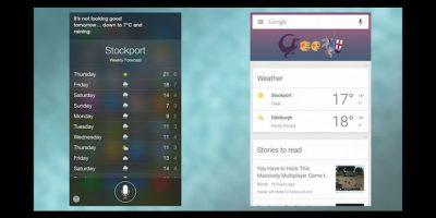 Izquierda iPhone, derecha Android Foto:vía Gizmodo