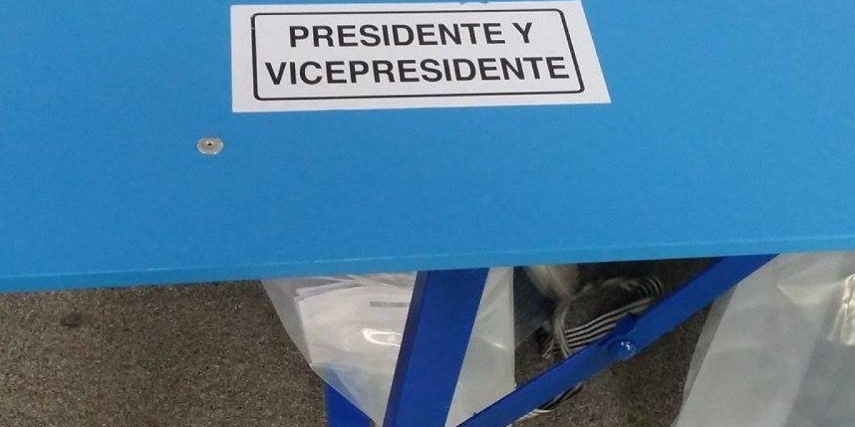 EN IMÁGENES. Así ha transcurrido la votación de los candidatos a la presidencia