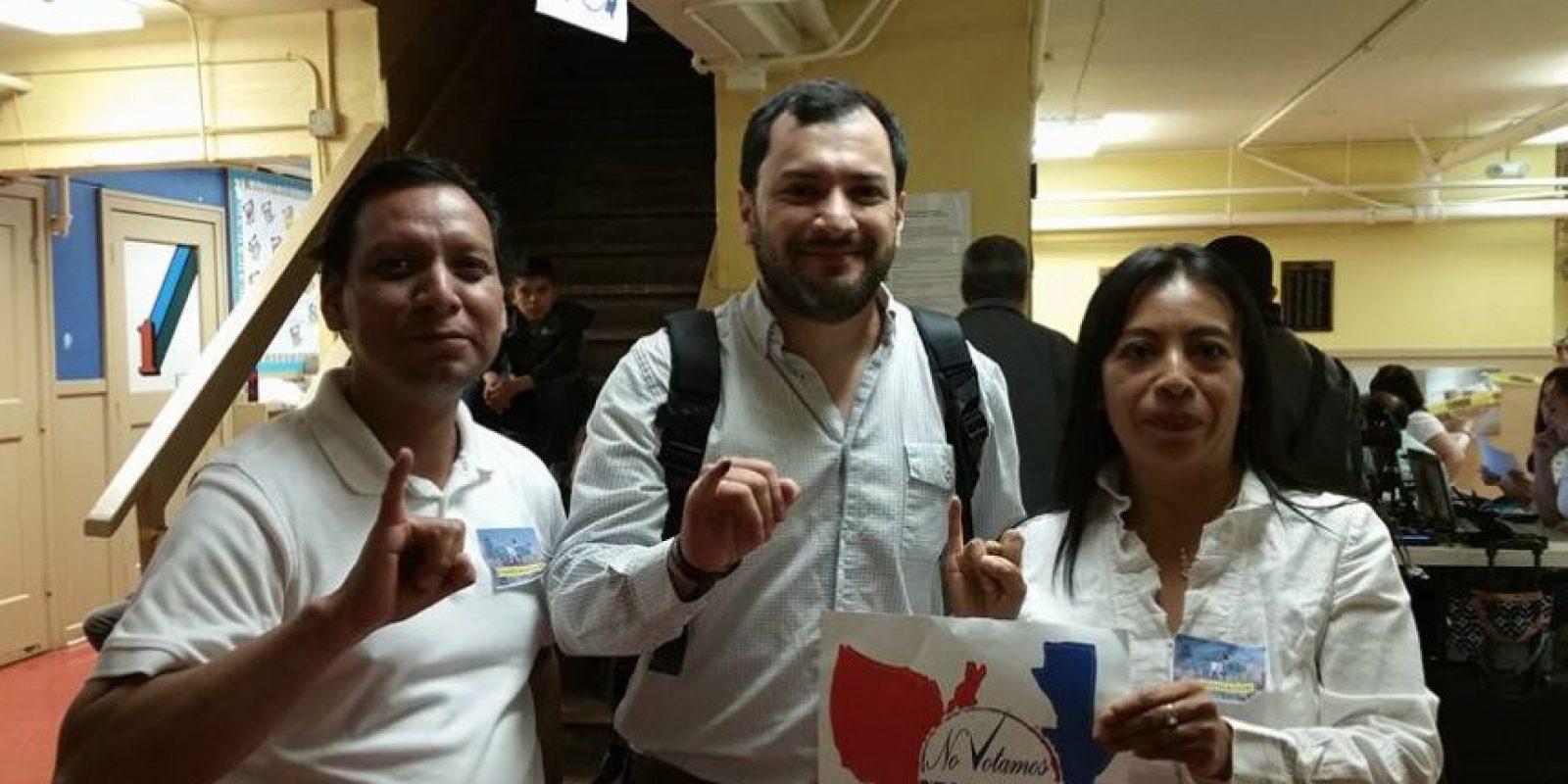 Foto:No Votamos Pero Si Contamos