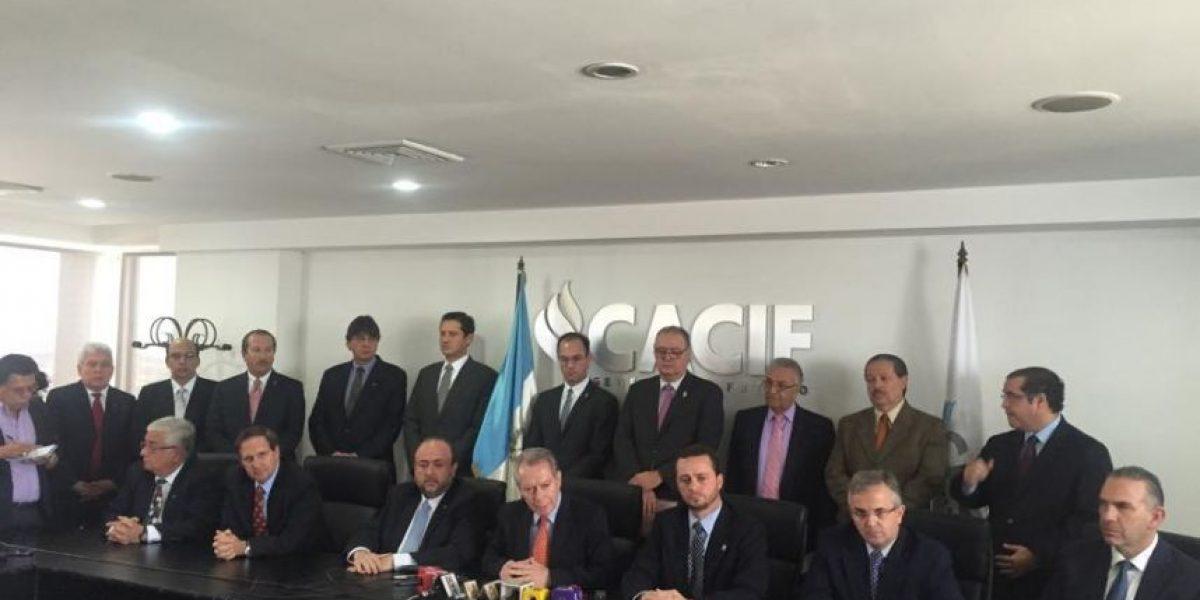 Cúpula empresarial pide dar seguimiento a las denuncias por fraude electoral