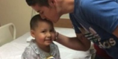 Rodríguez es amoroso con sus fans. Foto:instagram.com/jamesrodriguez10