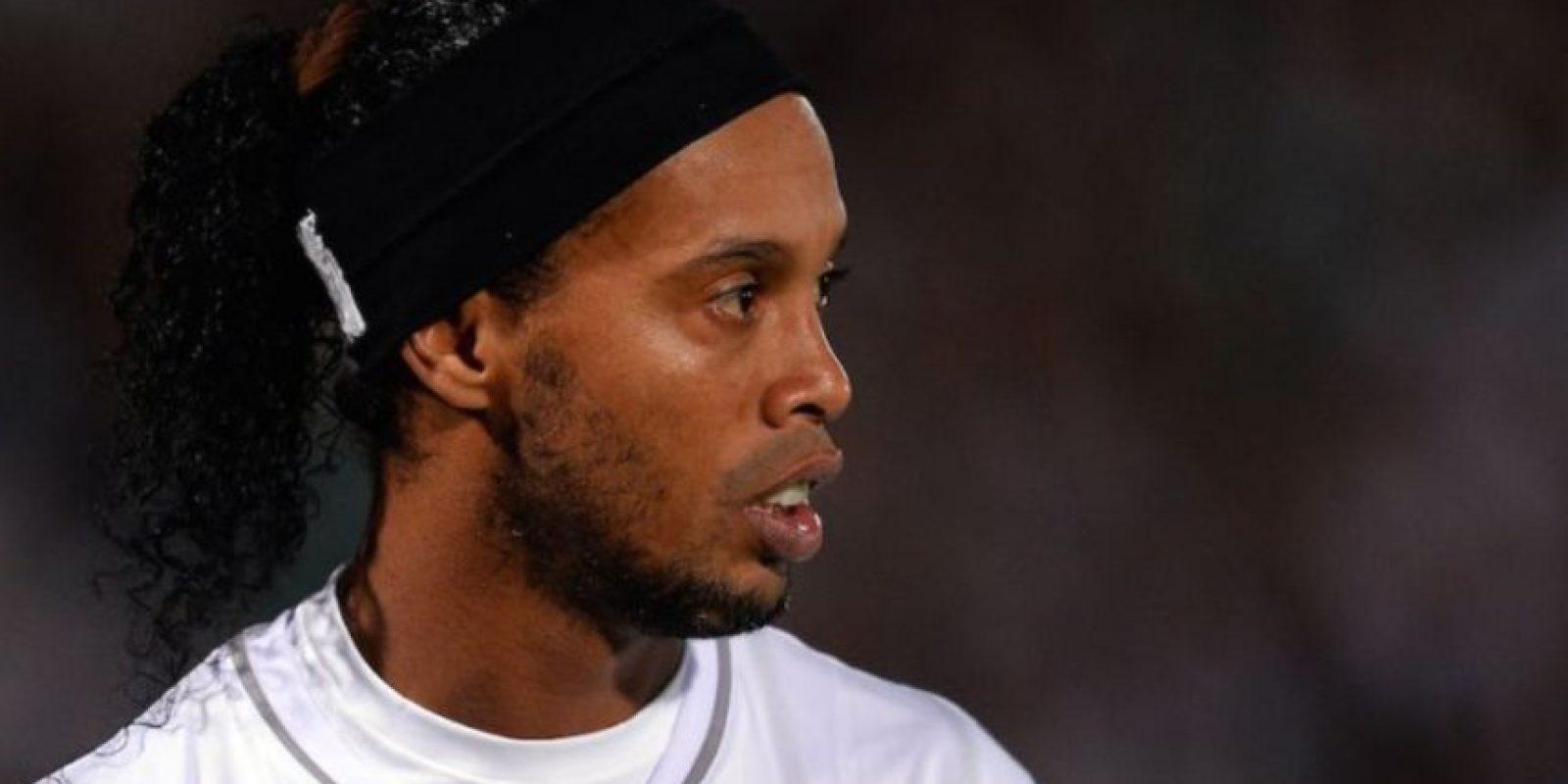1- Ronaldinho, futbolista brasileño, actualmente en el Fluminense de su país. Foto:Getty Images