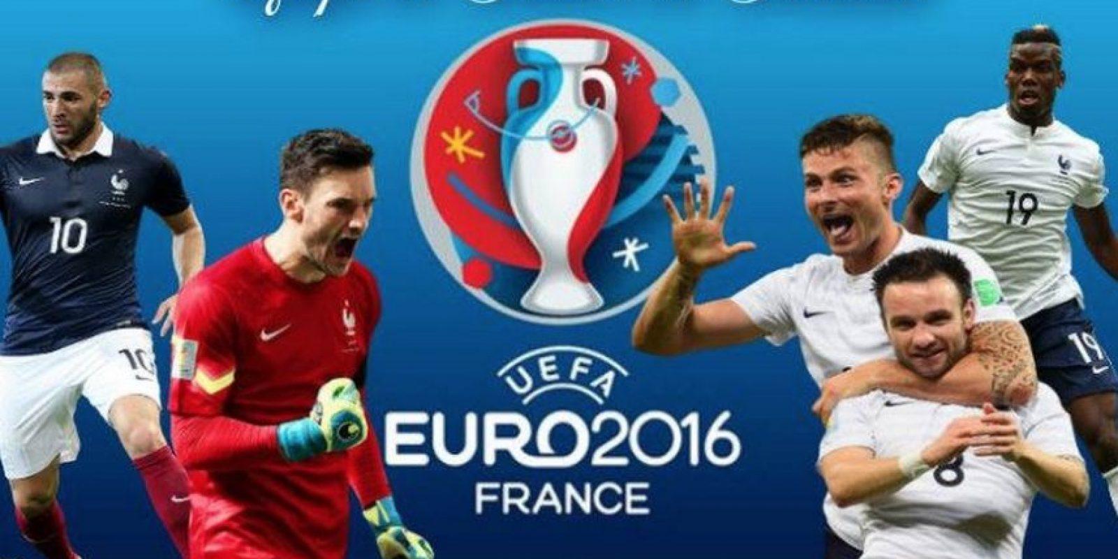 Francia tiene grandes jugadores. Foto:vía facebook.com/euro2016franceactualites