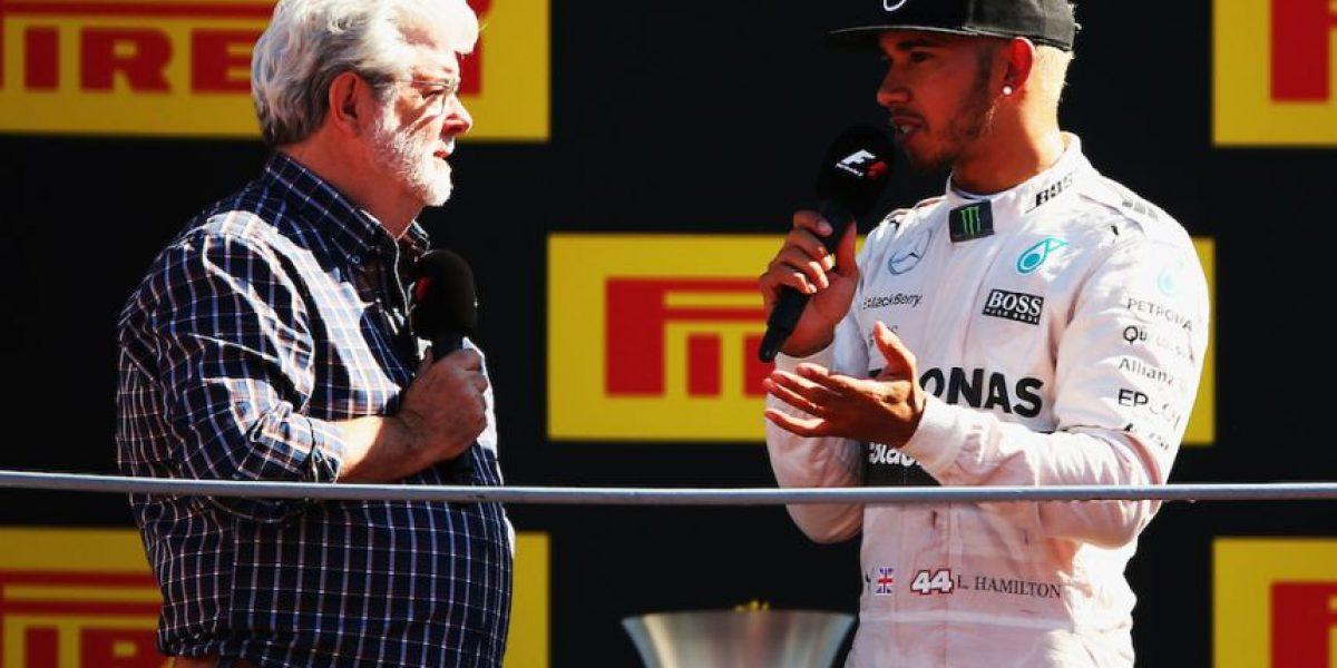 George Lucas se robó el show en el Gran Premio de Italia de la Fórmula 1