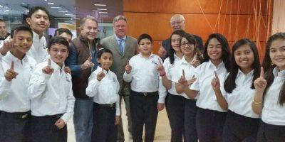Los niños eligieron a este candidato para ser el presidente de Guatemala