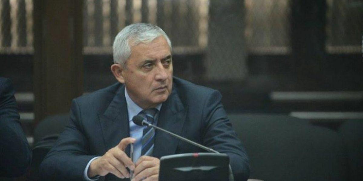 Juez decidirá si vincula al ex presidente Otto Pérez con La Línea