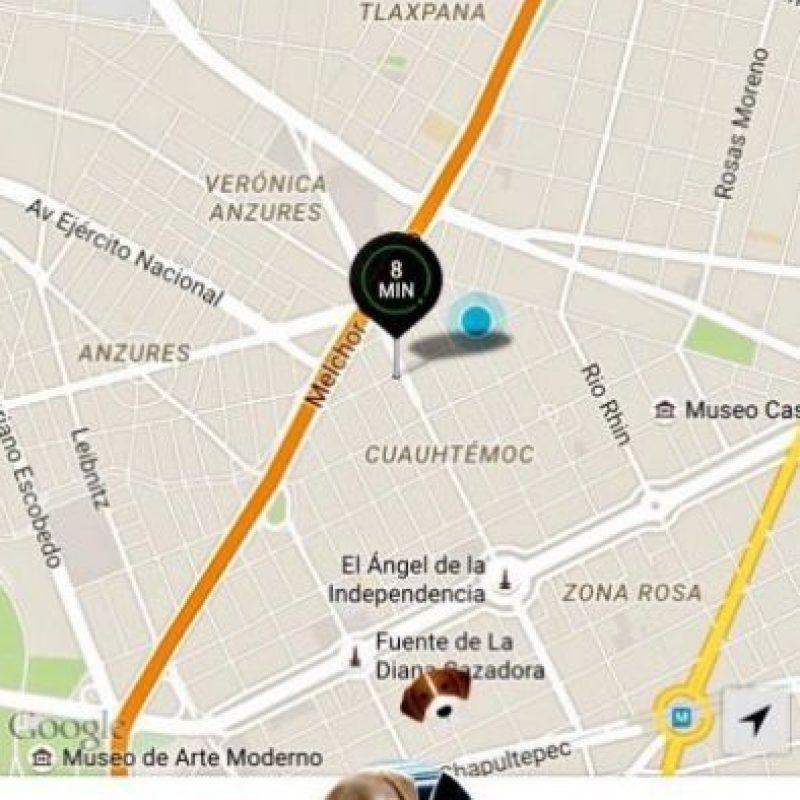 Se realizó en la Ciudad de México en el marco del Día Internacional de llevar el perro a la oficina. Foto:Uber