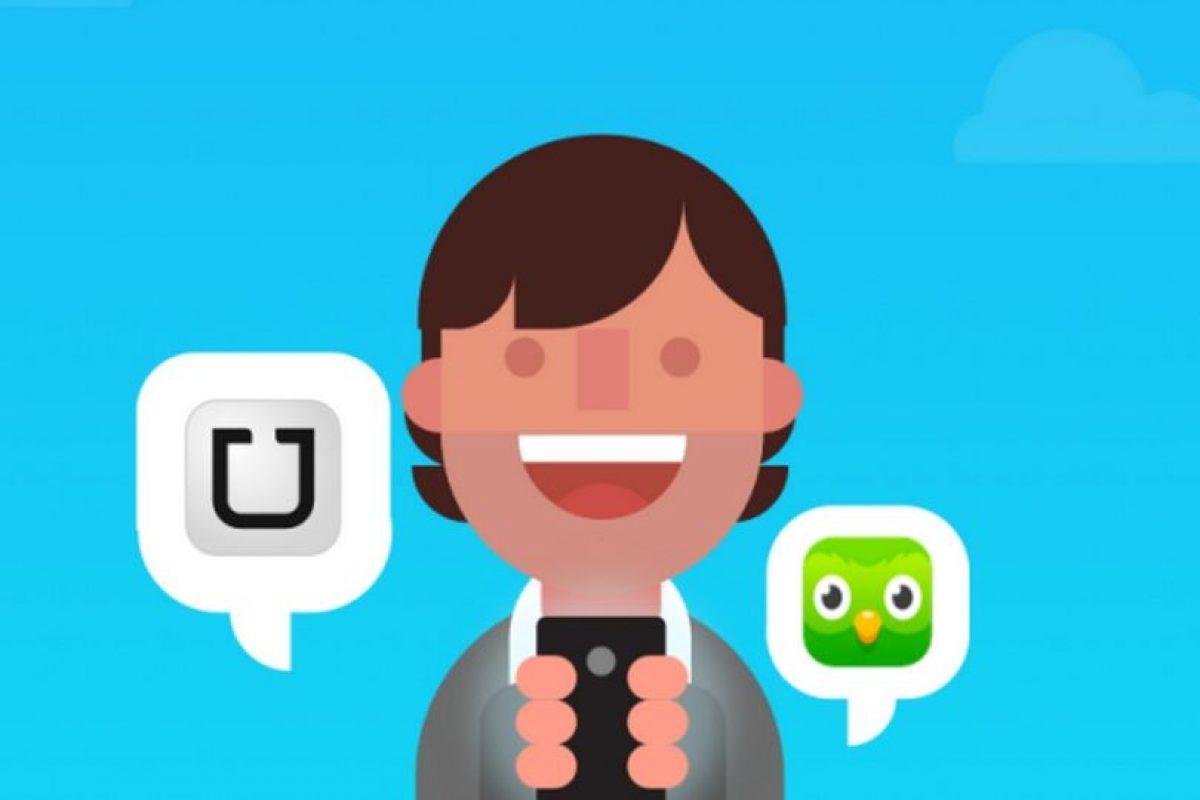 Los conductores de Uber ahora podrán aprender inglés. Foto:Uber / Duolingo