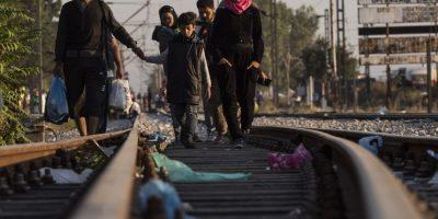 En este año, más de 2 mil 500 personas han muerto en sus intentos por llegar a Europa, pues viajan en condiciones muy precarias: botes de plástico, lanchas y barcos en pésimo estado. Foto:Getty Images