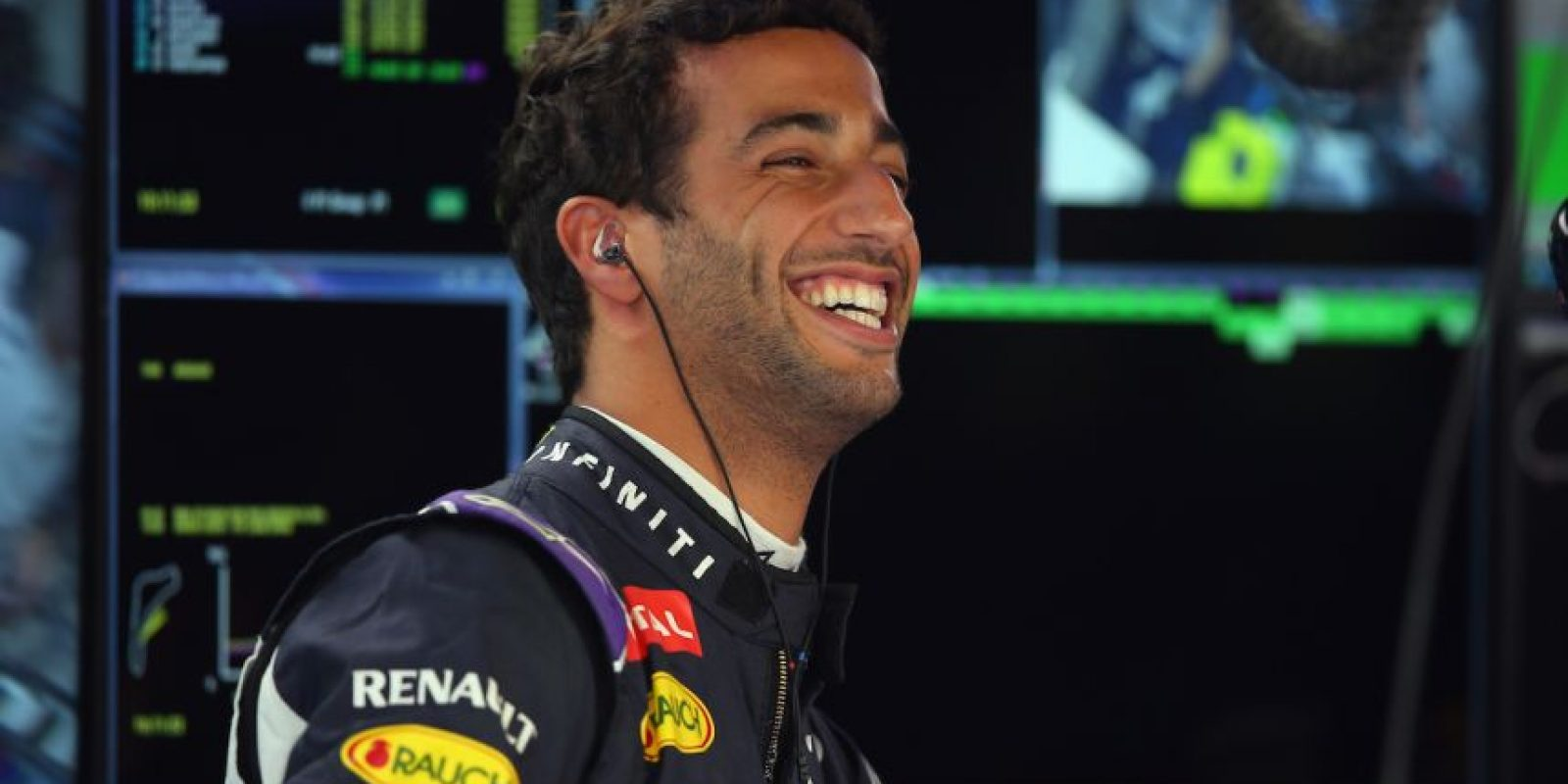 8. Daniel Ricciardo (Red Bull) = 55 puntos. Foto: Getty Images