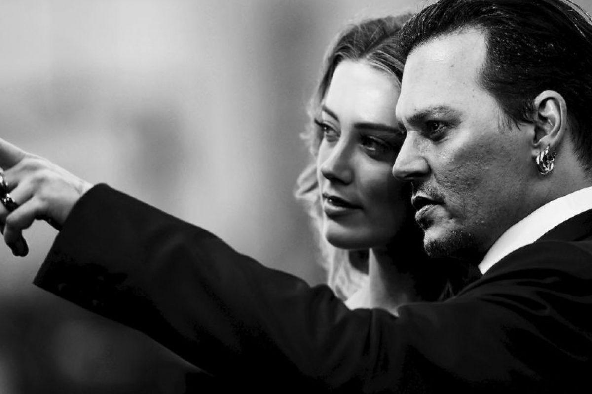 Johnny Depp y Amber Heard se casaron a inicios de este año Foto:Getty Images