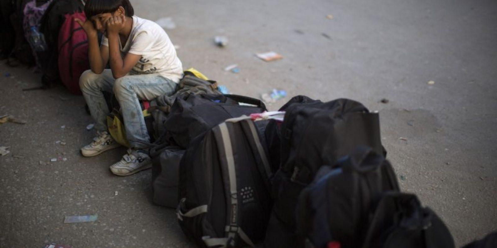 """La UE entregó 560 millones de euros a Italia para solventar los gastos de los migrantes, aunque el gobierno romano acusó al resto de los países europeos de """"cerrar los ojos ante la crisis"""". Foto:Getty Images"""