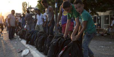 """Italia es actualmente la """"puerta de Europa"""". Más de 50 mil refugiados han llegado a las costas italianas en los seis meses. Foto:Getty Images"""