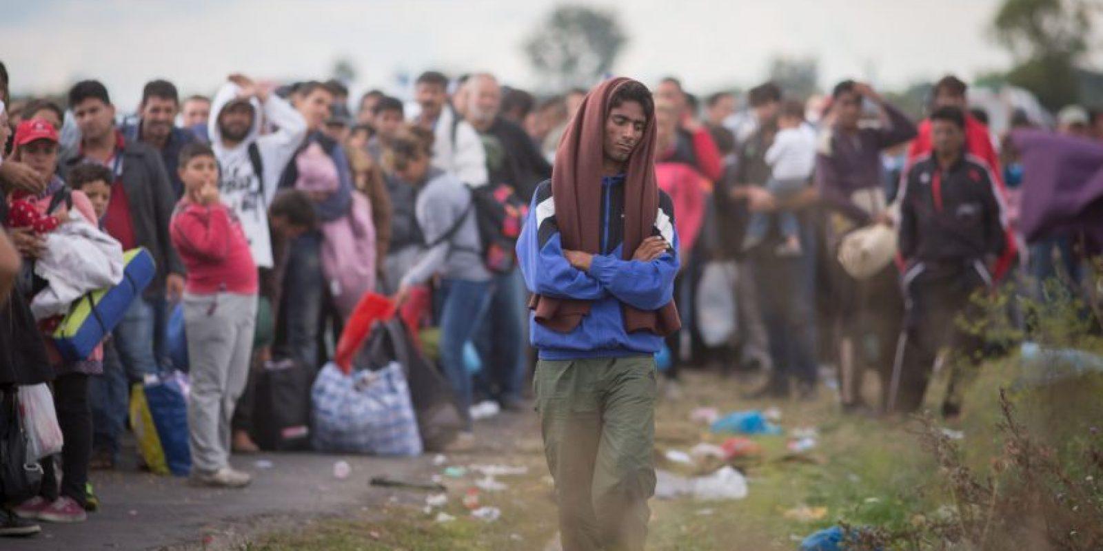 1. Más que un fenómenos migratorio es una crisis de refugiados, ya que la mayoría viene de zonas en conflicto como Siria, Irak o Afganistán. Foto:Getty Images