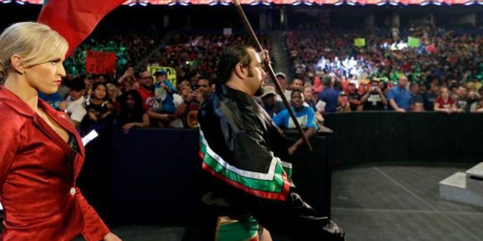 Uno de los rudos más respetados en la actual WWE Foto:WWE