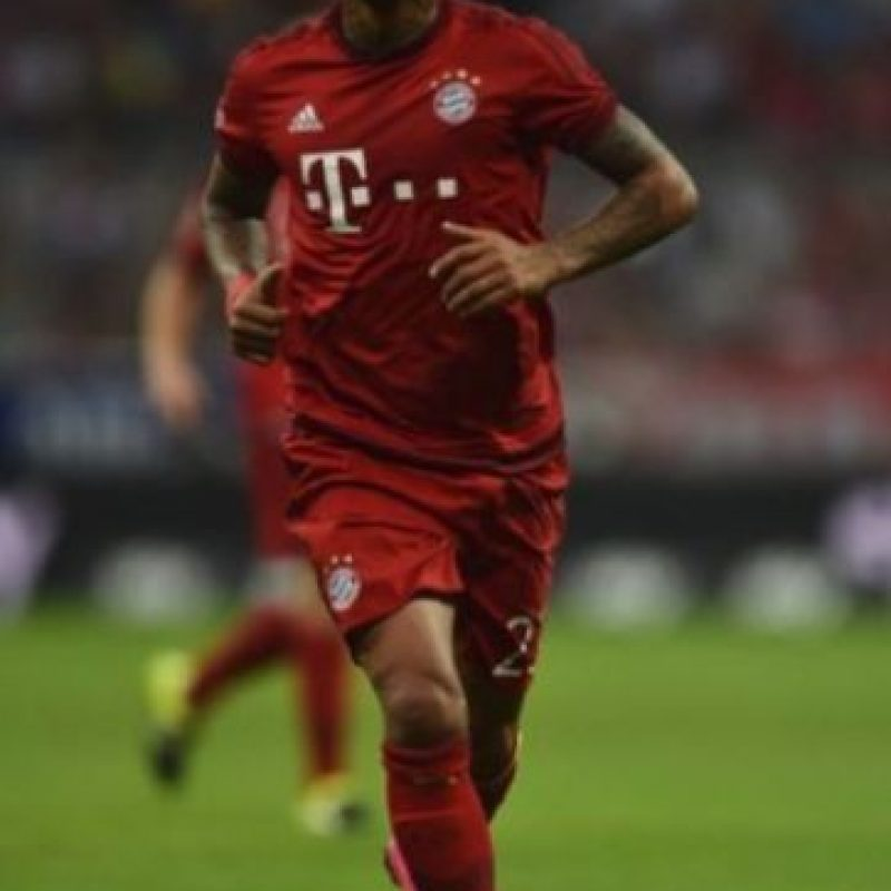 El chileno Arturo Vidal juega en el Bayern Múnich de Alemania Foto:Getty Images