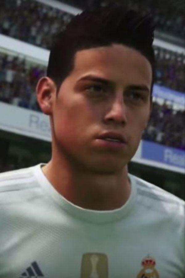 James Rodríguez Foto:EA Sports