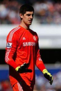 El portero belga juega en el Chelsea de Inglaterra Foto:Getty Images