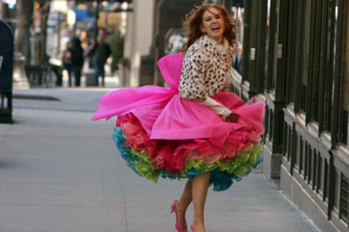 """Increíblemente, solo un 4.7 por ciento se reveló como """"adicto a las compras"""". Foto:vía Touchstone Pictures"""