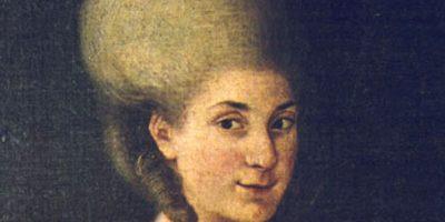 Tuvo la misma educación musical que su hermano Wolfgang Amadeus Mozart. Foto:Vía Wikimedia Commons
