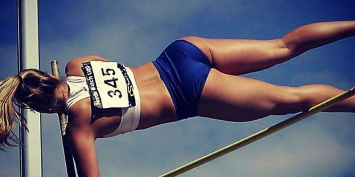 La nueva Miss Islandia es especialista en salto con garrocha