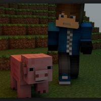 Minecraft es un videojuego independiente de construcción Foto:Wikicommons