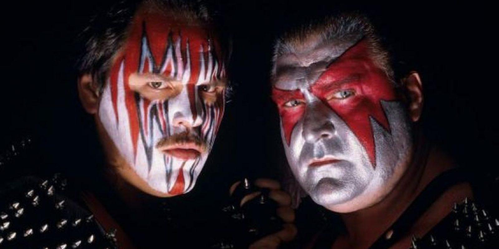 El dúo Demolition aterraba a cualquiera Foto:WWE