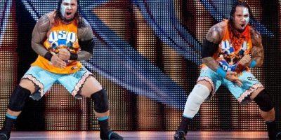 Los samoanos han sido campeones en Pareja de la WWE Foto:WWE