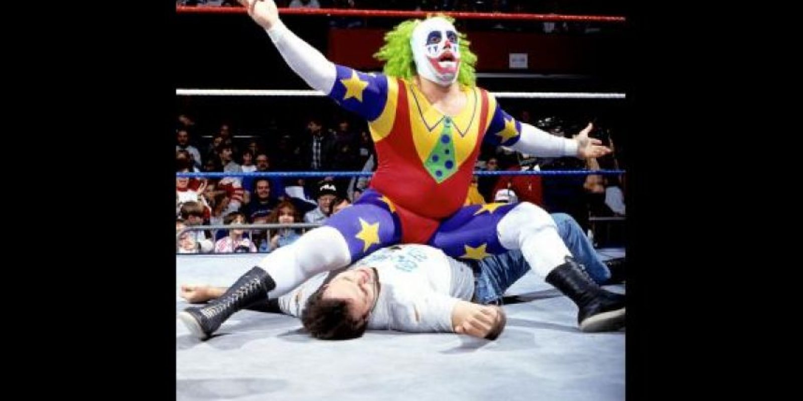 El payaso era especialista en hacer bromas en el ring Foto:WWE