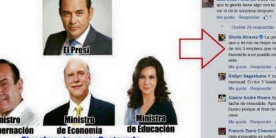 Los guatemaltecos reaccionan enfurecidos ante las palabras de Gloria Álvarez en Facebook