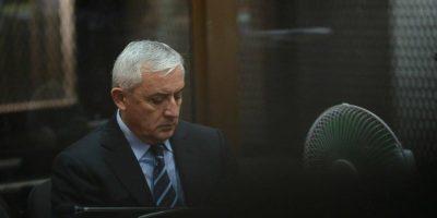 """Juez dicta prisión preventiva para Otto Pérez por el caso """"La Línea"""""""