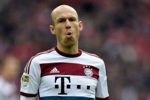 Arjen Robben (Bayern Munich/Holanda). Foto:Getty Images