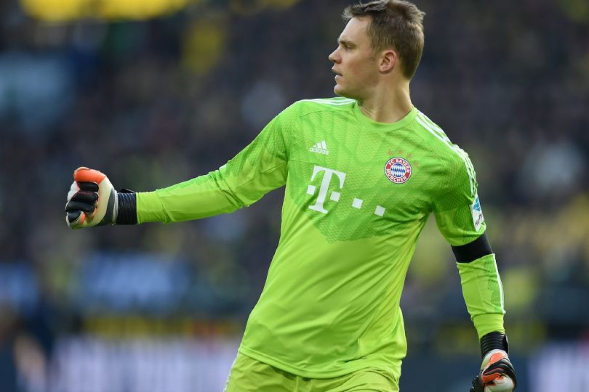 EQUIPO ADIDAS / PORTERO: Manuel Neuer (Bayern Munich/Alemania) Foto:Getty Images
