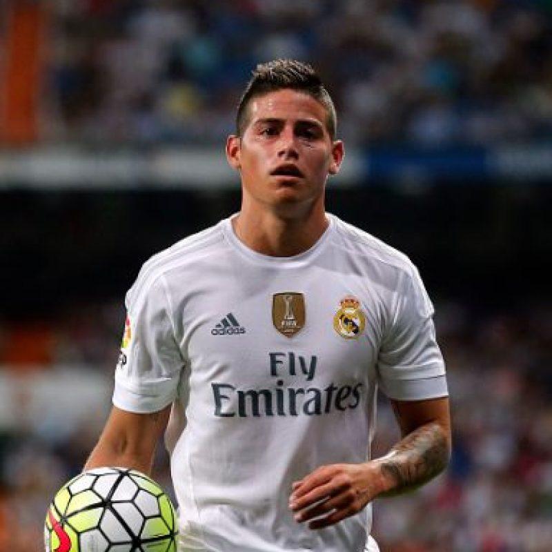 1. James Rodríguez (+ 45 millones de euros) Foto:Getty Images