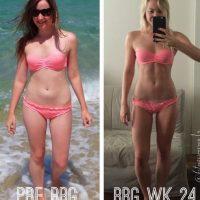 Así cambio después de 24 semanas de ejercicio Foto:Vía instagram.com/fitnessjourney1a