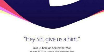 Será hasta este miércoles cuando se realice el evento de Apple. Foto:Apple