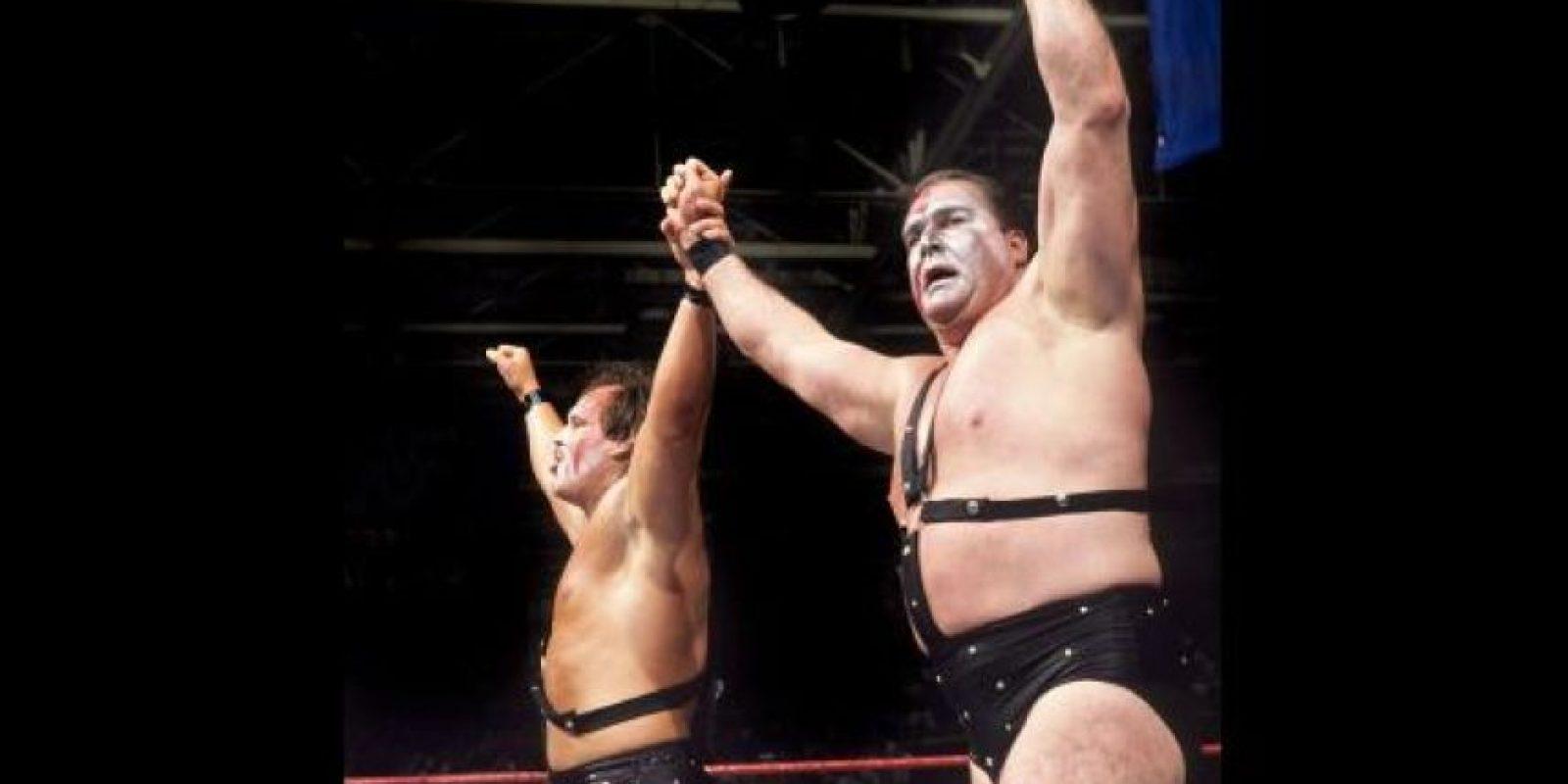 Ax y Smash fueron campeones en parejas en tres ocasiones Foto:WWE