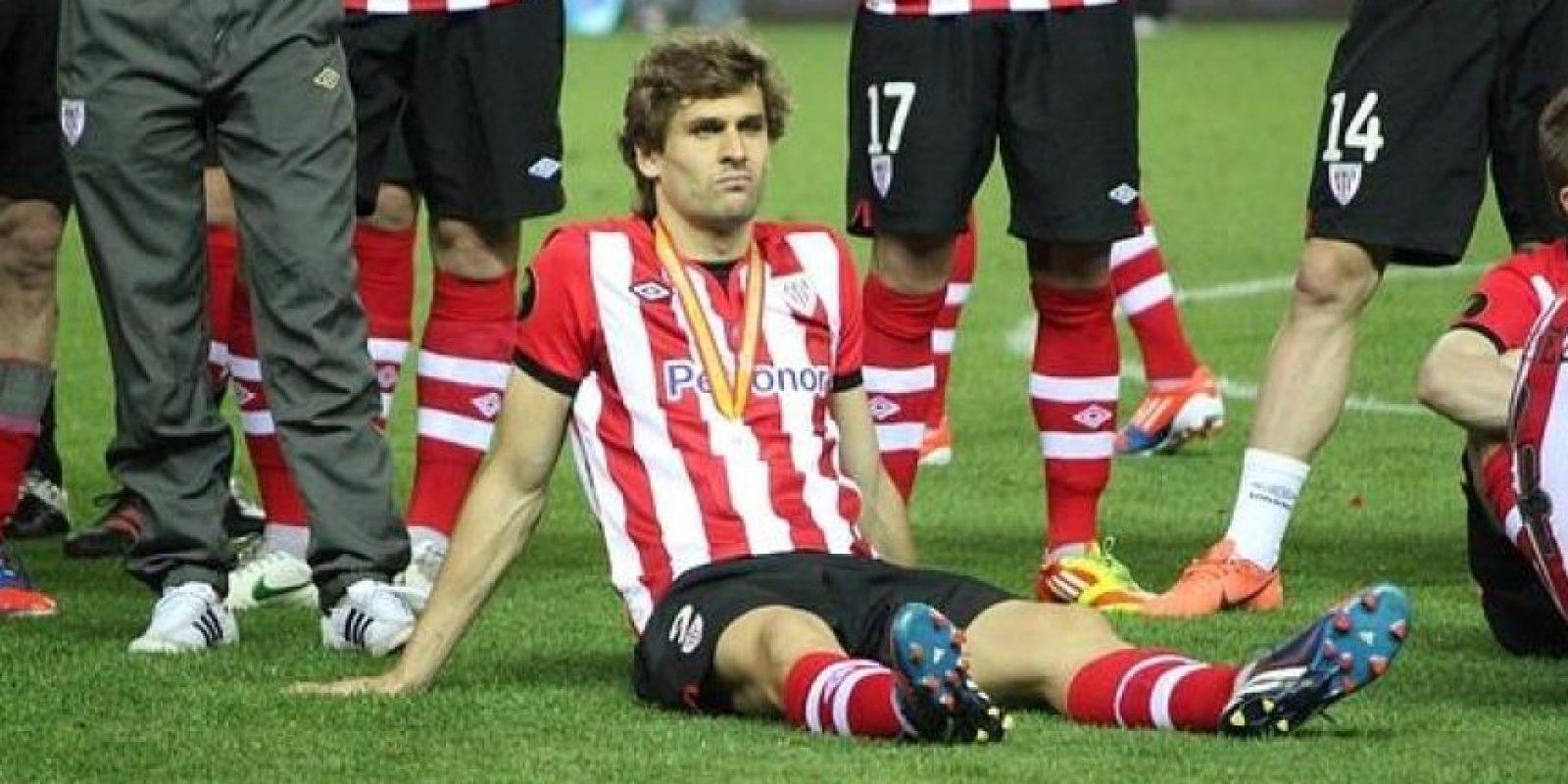 """""""Llorente a la calle"""", de esta forma reaccionó la afición del Athletic de Bilbao, luego de que el delantero mostrara sus intenciones de abandonar al club Foto:Getty Images"""