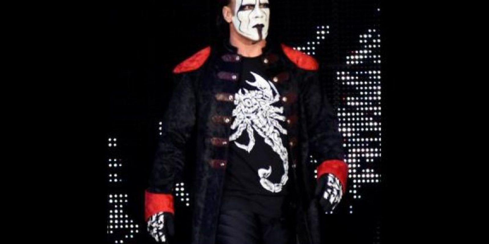 Sting es un luchador estadounidense de 56 años que participa en la WWE. Su nombre real es Steve Borden. Foto:WWE
