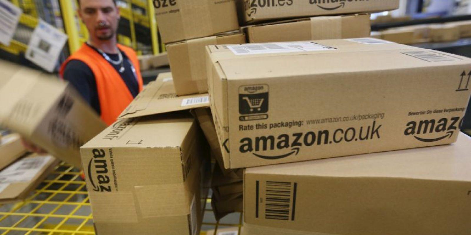 19.5 millones de personas compran en Amazon diariamente, eso es más que la población total de países como Chile, Holanda o Ecuador Foto:Getty Images