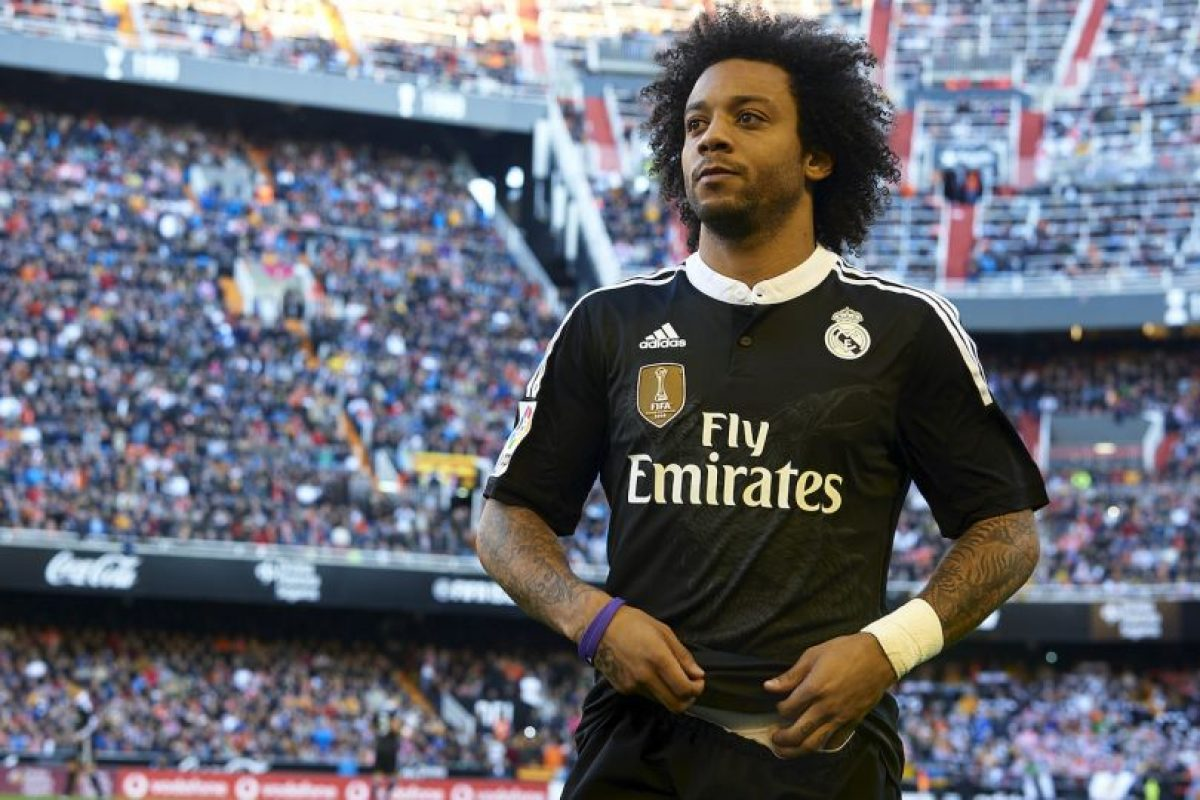 DEFENSAS: Marcelo (Real Madrid/Brasil) Foto:Getty Images