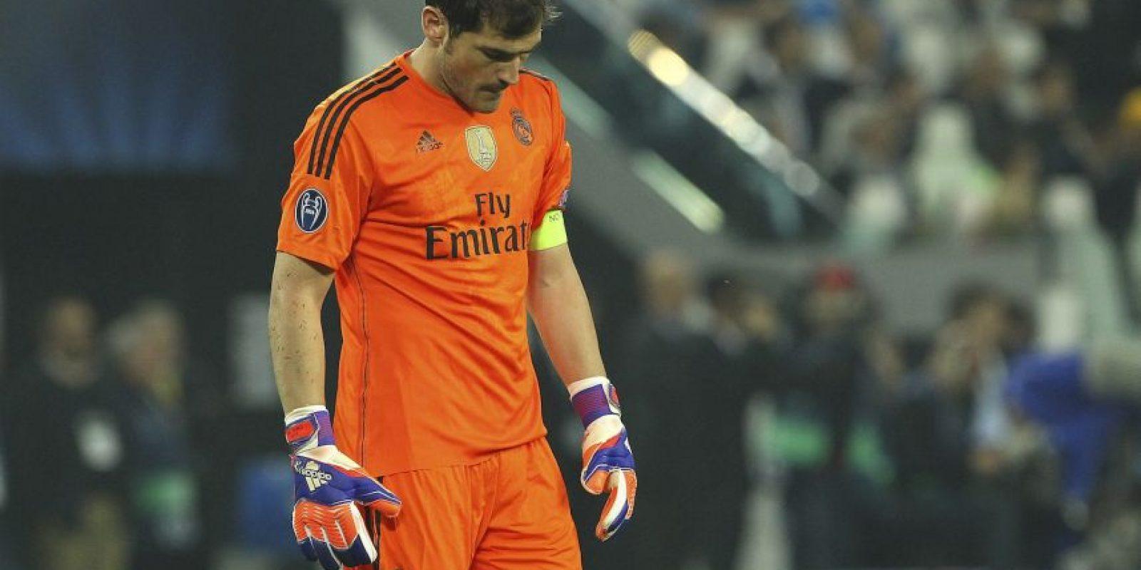 """El guardameta español sufrió fuertes críticas por su baja de juego en sus últimos tiempos como """"merengue"""" Foto:Getty Images"""