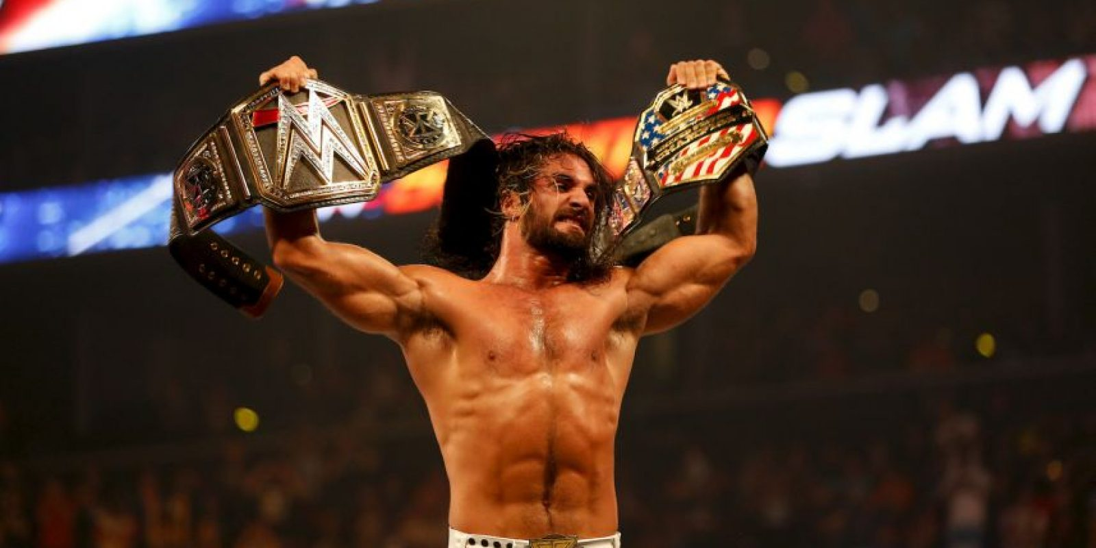 Posee varios títulos dentro de la WWE. Los principales son Campeón del Mundo de Peso Pesado de la WWE (actual), Campeón de Estados Unidos de la WWE (Actual) y Money in the Bank (2014). Foto: Getty Images