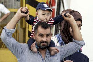 Por su situación geográfica, Grecia es uno de los países más desbordados por la crisis de refugiados que enfrenta Europa. Foto:Getty Images