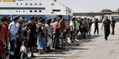 Recibe miles de solicitantes de asilo que escapan de las malas situaciones en sus países de origen. Foto:Getty Images