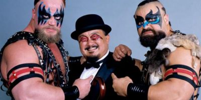 Mr. Fuji y la pareja Powers of Pain Foto: WWE