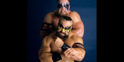 The Warlord y The Barbarian eran especialistas en la rendición Foto: WWE