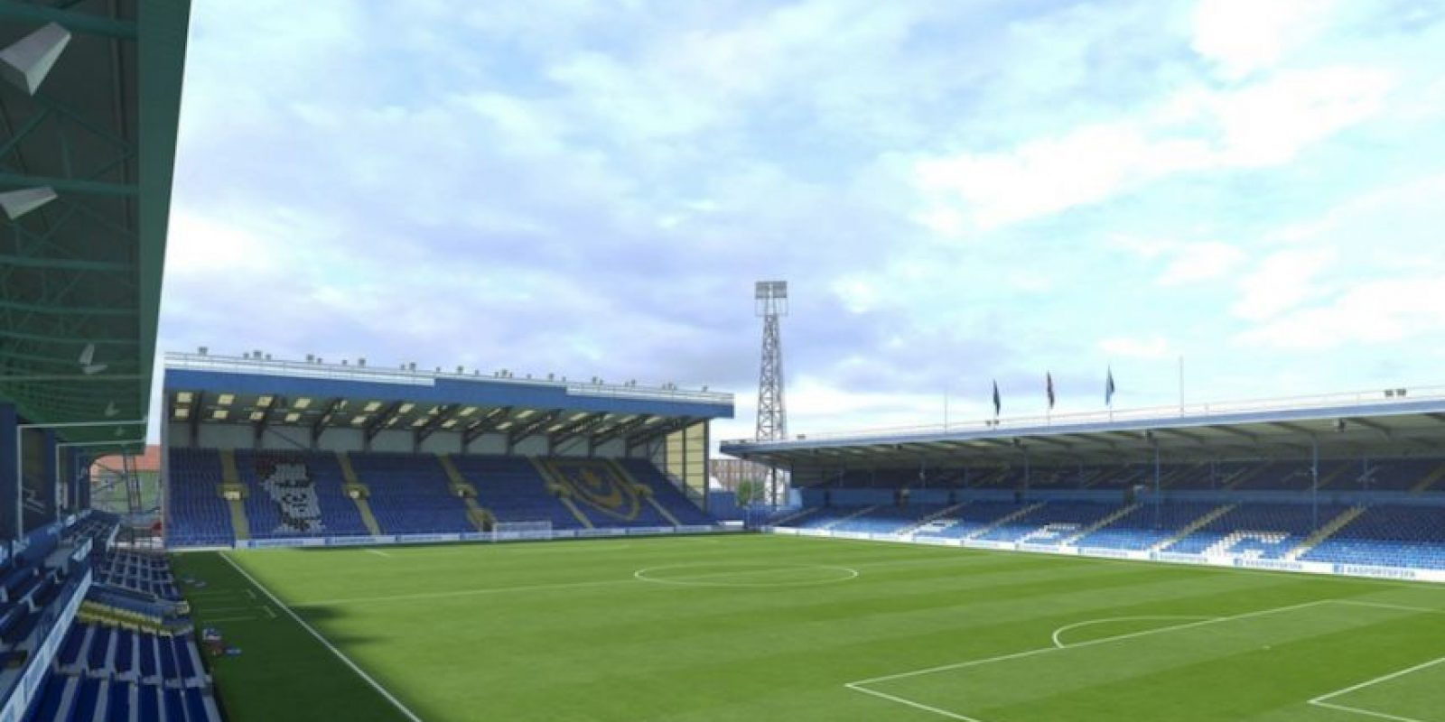 Fratton Park (Portsmouth FC, England League Two) Foto: EA Sports